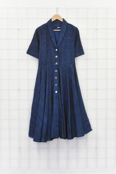 Vintage A-line shirtdress