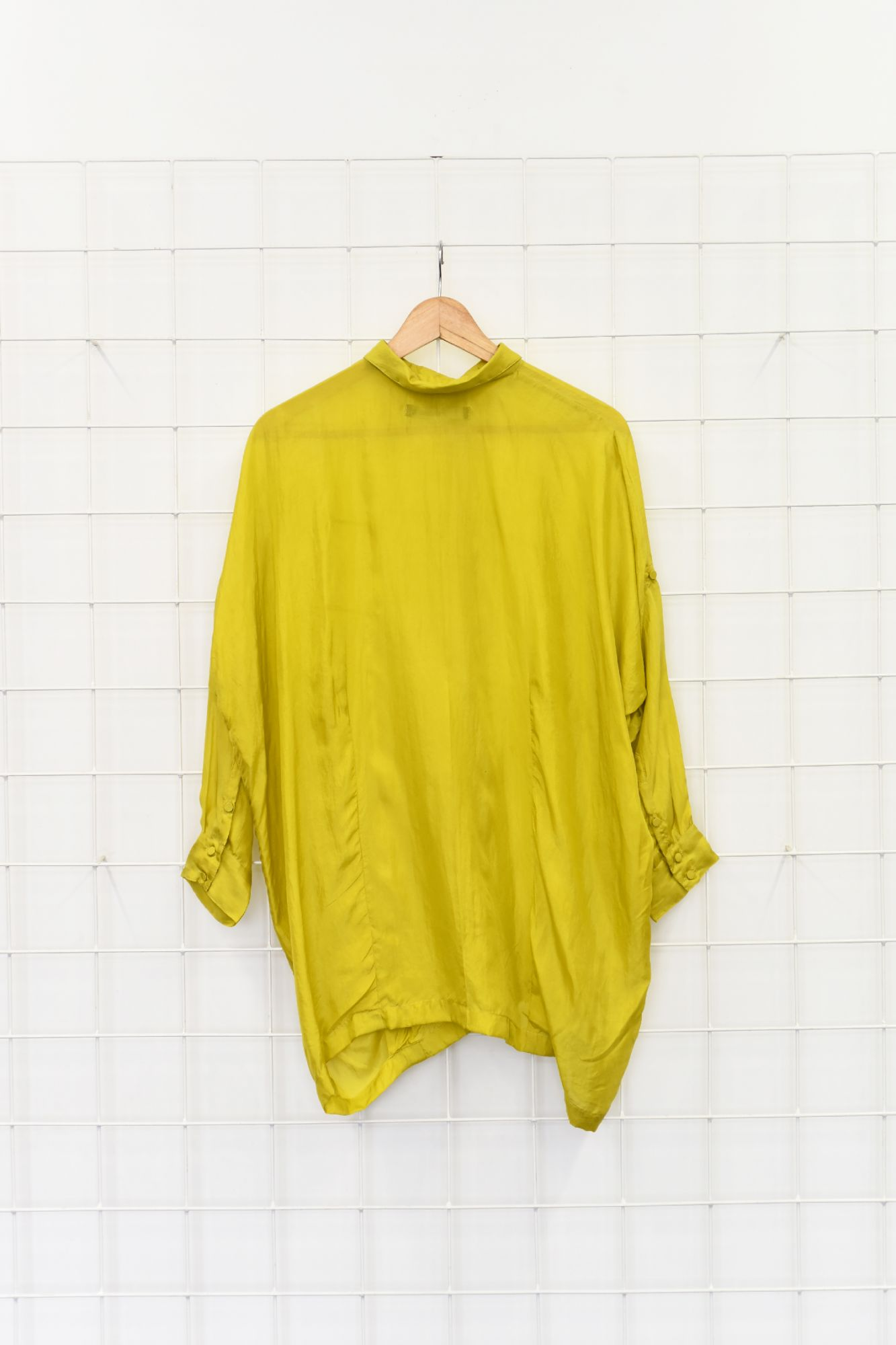 Boxy Shirt - Silk