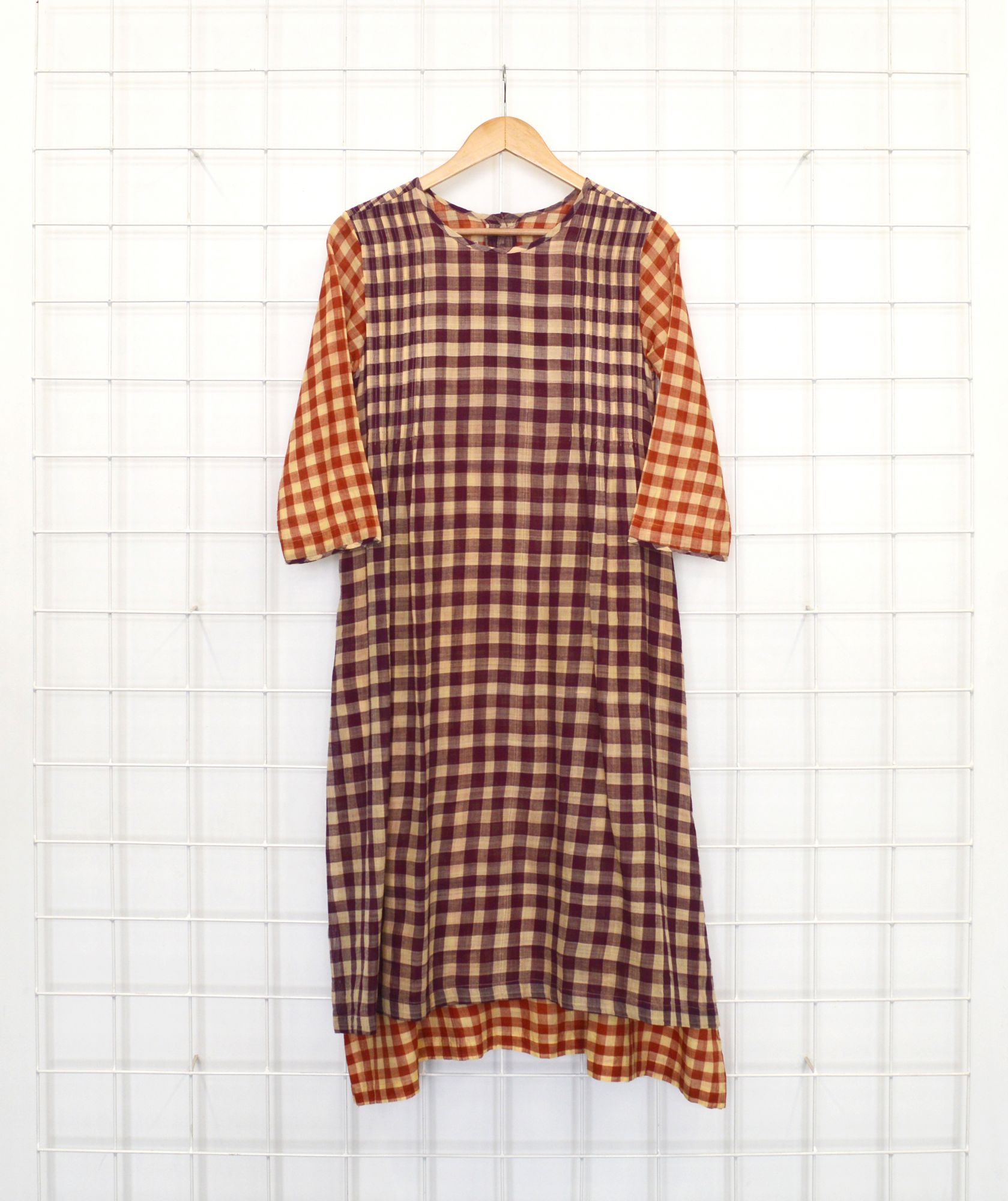 Bidi Dress - South checks