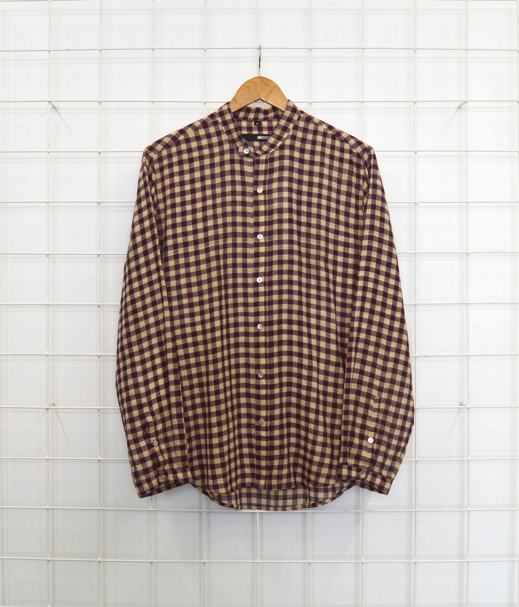 Double button Shirt - south checks