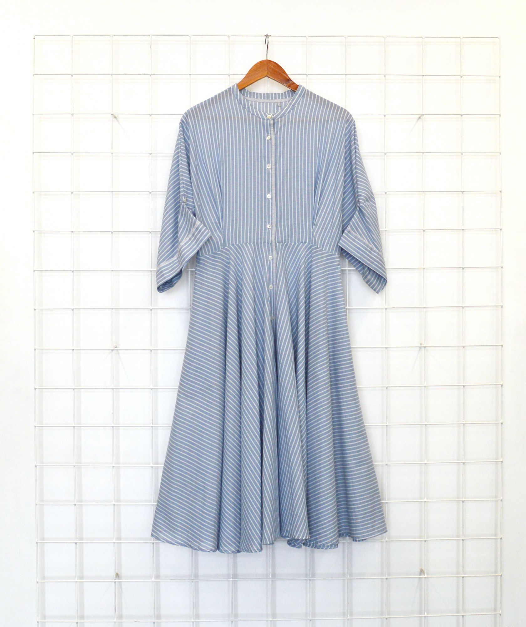 Annie Dress- Chalk Light
