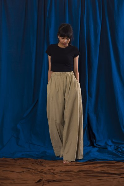 Solid / Classic Pleated Trouser