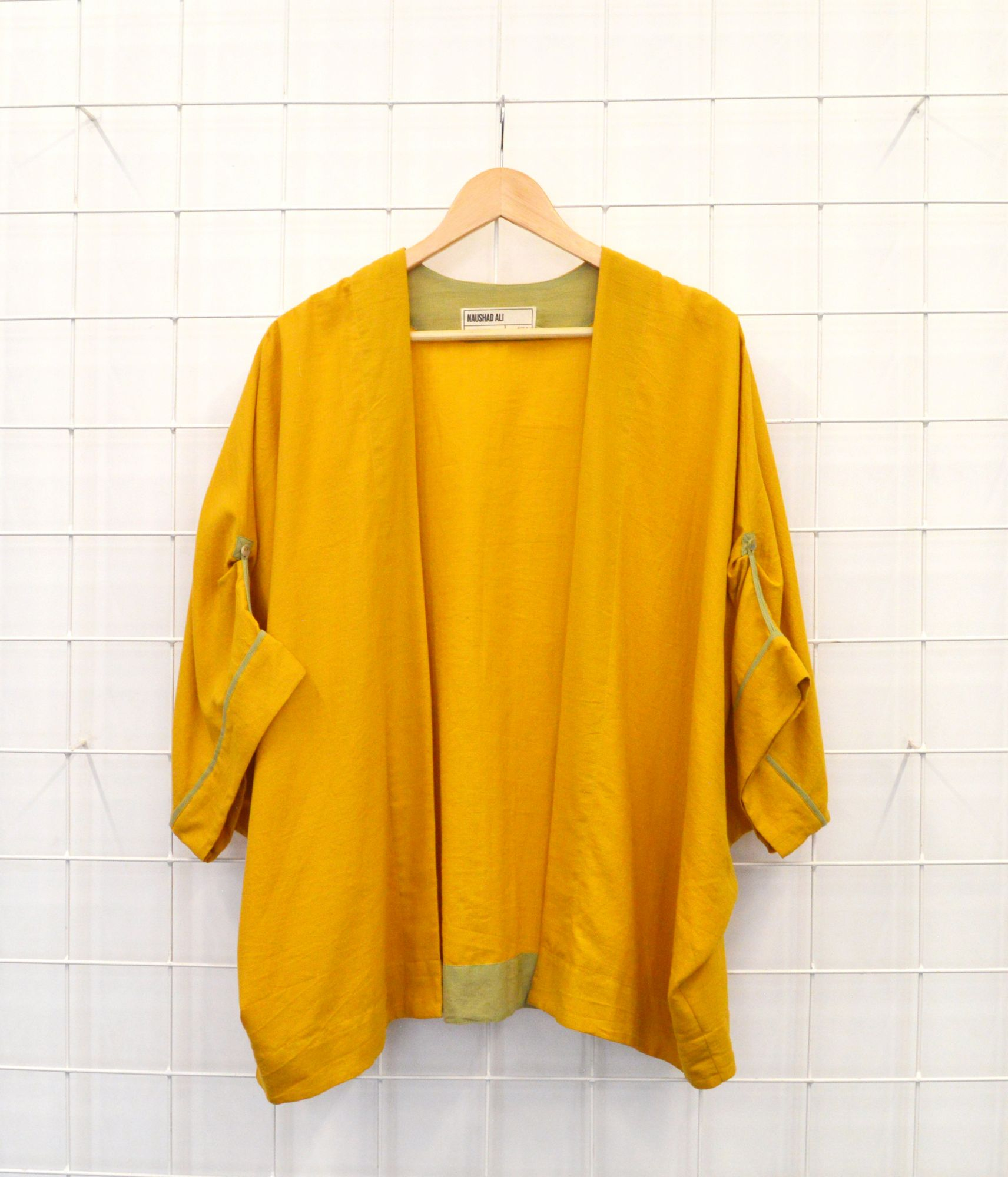 Pondy Jacket - Yellow Ocher
