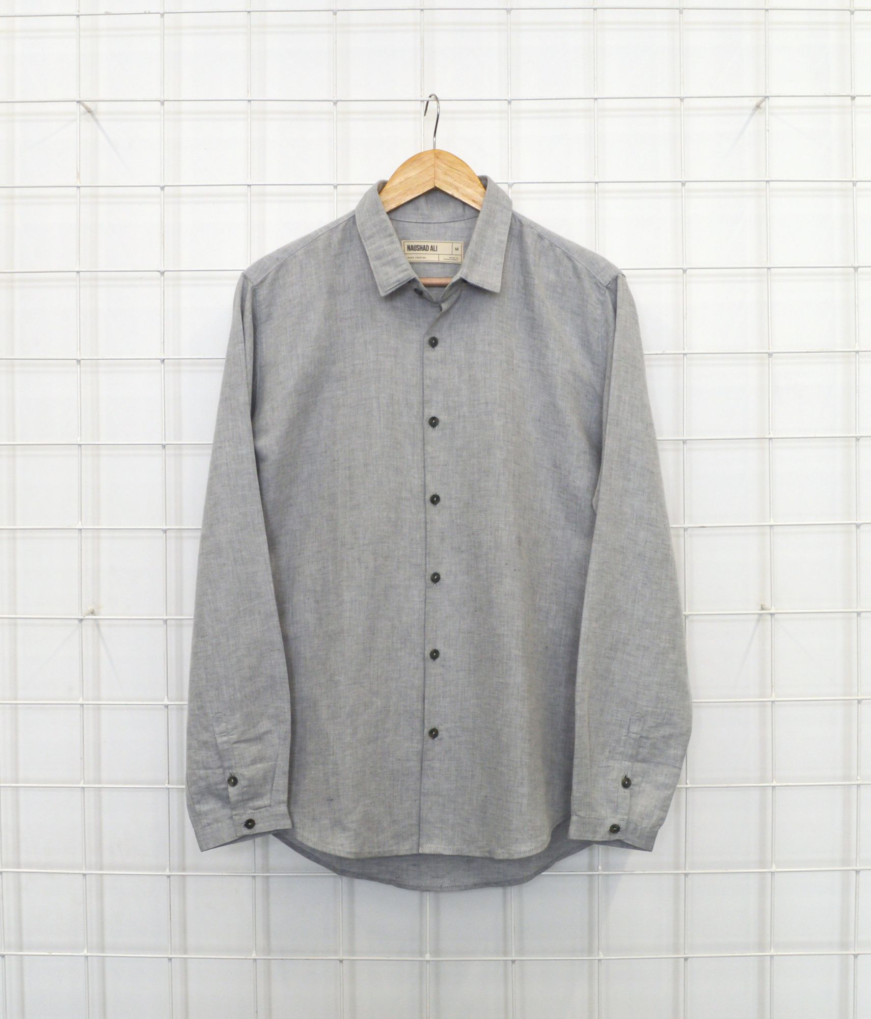 Good fella Shirt - Linen - Cement