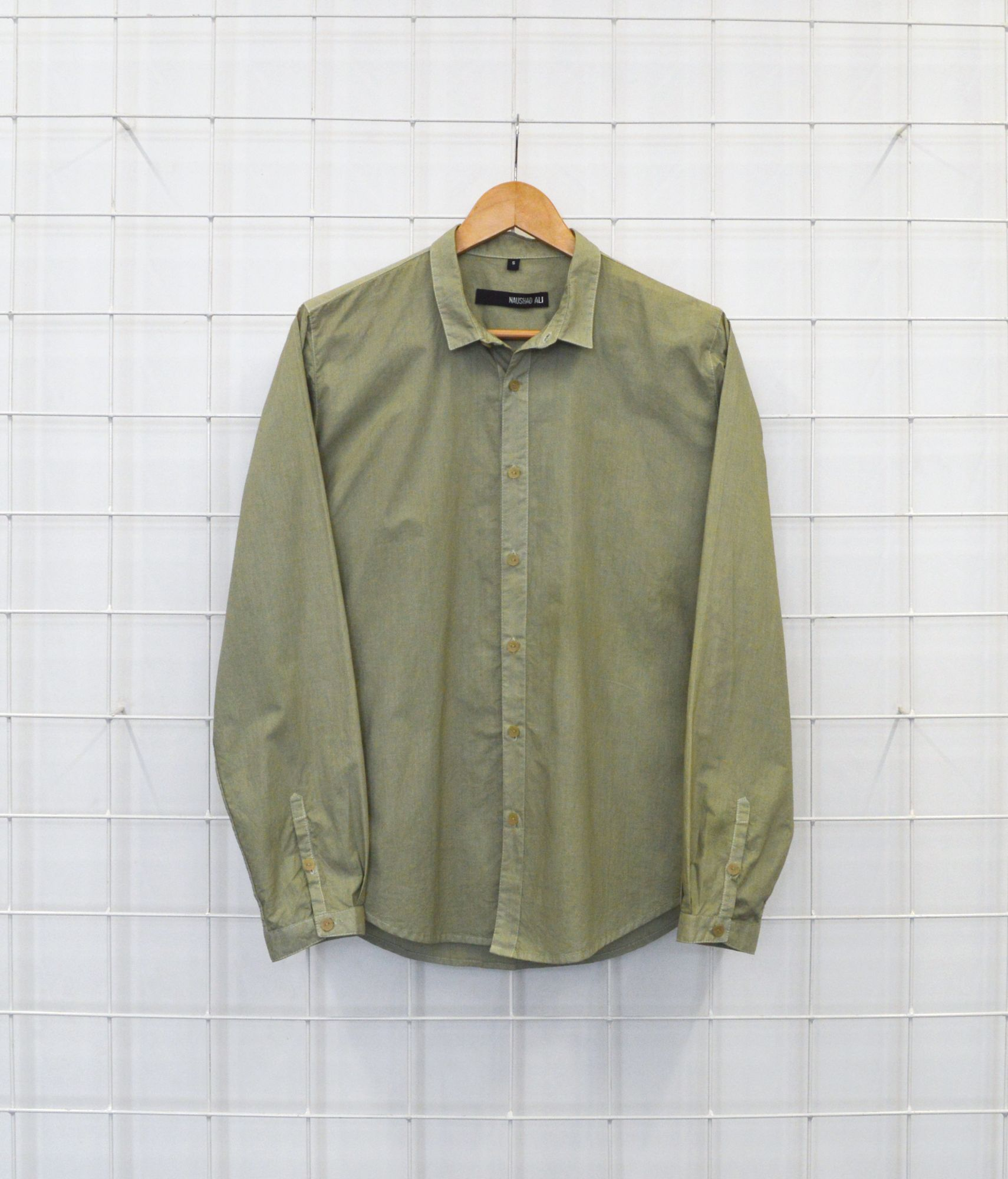 Overdyed  Shirt - Green