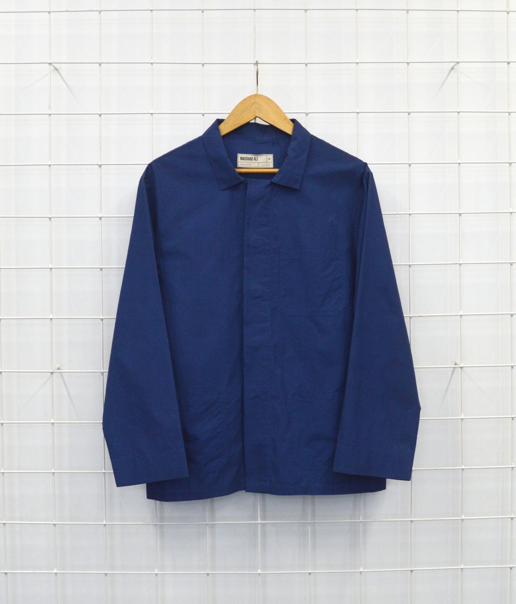 Vintage Shirt/Jacket - Electric Blue