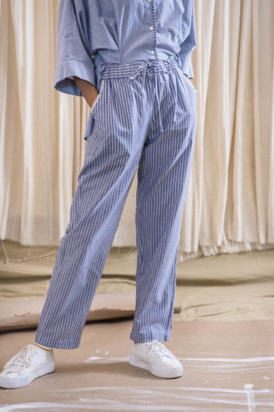 Easy Ankle-Length Pants