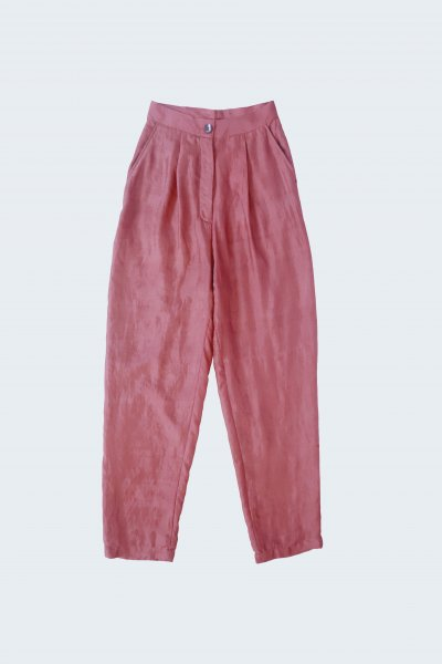 Pleated Trousers - Silk